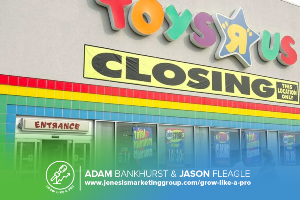 The Grow Like a Pro Show | Toys R Us Closing | Amazon